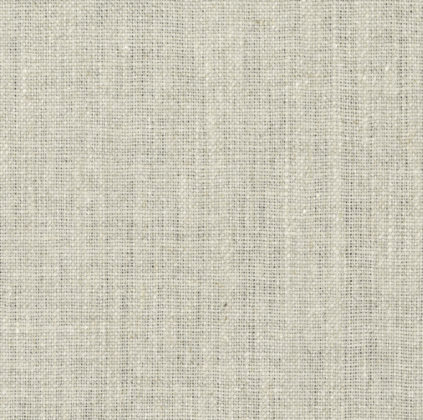 Plain linen fabric used as a base cloth for printing in oyster colour
